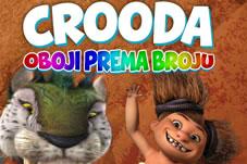 Bojanka! Nađi pravi broj i oboji cool prahistorijske životinje