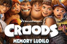 Memory ludilo: Jesi li dobro zapamtio likove iz Croodsa?